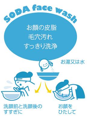 お顔の皮脂 毛穴汚れ すっきり洗浄